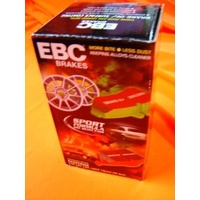 CERAMIC EBC RED STUFF Nissan 35OZ with BREMBO CALIPERS FRONT Disc Brake Pads