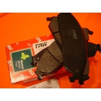 Ford AU BA BF REAR TRW HIGH PERFORMANCE Disc Brake Pads with WARRANTY