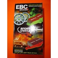 CERAMIC KEVLAR EBC Red Stuff  Ford FOCUS LW 2011 on FRONT & REAR Disc Brake Pads