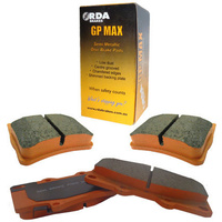 COMMODORE VF Front and Rear RDA GP Max Brake Pads FULL VEHICLE SET 12M/20000Km