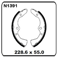 Mazda E1300 1978-1980 FRONT Drum Brake Shoe SET N1391