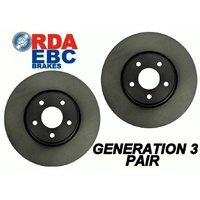 Hyundai I-Max Van 1/2007 onwards REAR Disc brake Rotors RDA7460 PAIR